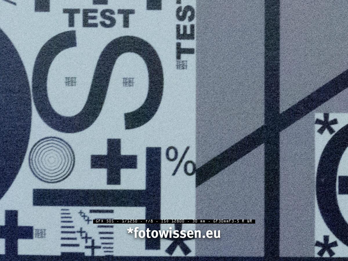 Bildqualität Fujifilm GFX 50s bei ISO 12.800