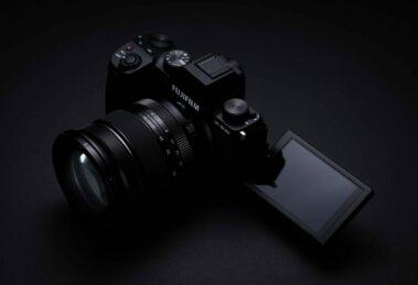 Fujifilm X-S10 - gedrehtes und geklapptes Touchdisplay