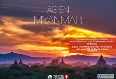 Neuartiges Kalenderkonzept - Myanmar 2021