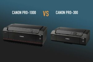 Fine-Art-Drucker Canon PRO-300 versus PRO-1000