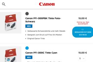 Viele Shopseiten können nicht liefern - Lieferprobleme Fotografie Corona