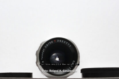 Carl Zeiss Jena,1:2,8 50mm red dot; M42