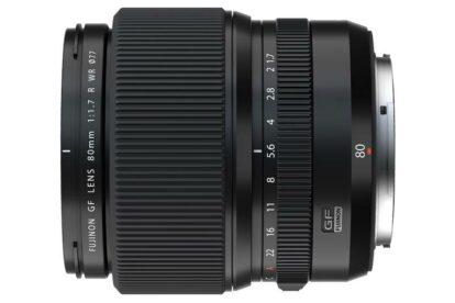 Fujifilm GF 80 mm F1,7 R WR schwarz