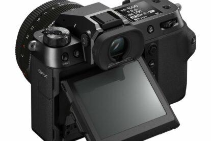 Fujifilm GFX 100s Gehäuse Klappdisplay und Bedienungselemente