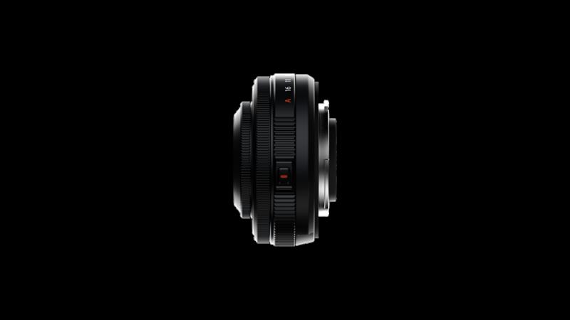 Fujifilm XF27mmF2.8 R WR Seitenansicht