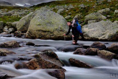 Moskito meets Mittelformat - Mit der Fuji GFX50s im Fjäll über dem Polarkreis - Foto: Bernhard Labestin
