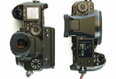 Vergleich Fuji GFX 50S und GFX 100S