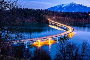 Völkermarkter Drau-Brücke - Foto: Manfred Starc - *fotowissen Bild der Woche
