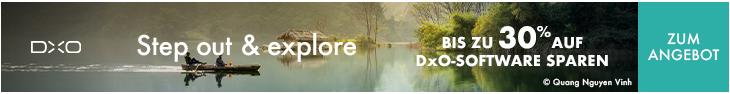 DXO Angebot 2021 30% für *fotowissen-Leser